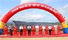 Ninh Thuận: Khánh thành nhà máy điện mặt trời công suất 50 MWp