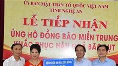 Nghệ An: Kêu gọi hơn 34 tỷ đồng ủng hộ người dân vùng lũ miền Trung