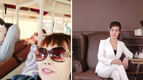 'Cô dâu 62 tuổi' xuất hiện với diện mạo khác lạ sau thời gian chạy vật lý trị liệu vì biến chứng thẩm mỹ