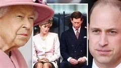 Nữ hoàng là 'cứu cánh' cho William trước cú sốc cha mẹ ly hôn
