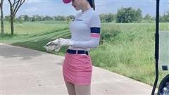Thời trang sân golf của người đẹp Việt
