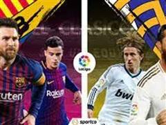 Trực tiếp trận 'Siêu kinh điển' Barcelona - Real Madrid