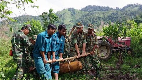 Tiêu hủy quả bom nặng hơn 220kg tại Khánh Hòa