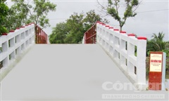 Khánh thành cầu Đường Trâu ở Vĩnh Long