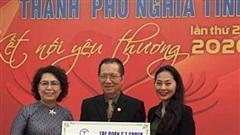 Tập đoàn C.T Group ủng hộ 2 tỷ đồng hỗ trợ đồng bào miền Trung