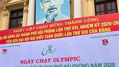 Gần hai nghìn người tham gia Ngày chạy Olympic vì sức khỏe toàn dân