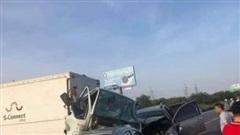 Ô tô lao qua dải phân cách cao tốc, gây tai nạn liên hoàn, 2 người thiệt mạng
