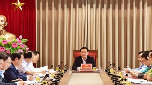 Bí thư Thành ủy Vương Đình Huệ chỉ đạo xử lý vụ việc liên quan đến Khu liên hợp xử lý chất thải Sóc Sơn