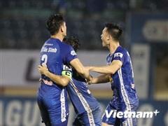 Kết quả V-League: Quảng Nam nhen nhóm trụ hạng, HAGL thua đậm Sài Gòn