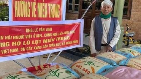 Nghệ An: Cụ ông 98 tuổi mua 3 tấn gạo gửi đồng bào vùng lũ