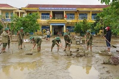 Bộ Y tế yêu cầu bảo bảo vệ sinh môi trường trong mùa bão lũ
