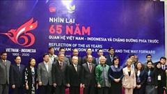 Quan hệ Việt Nam - Indonesia không ngừng được củng cố và lớn mạnh