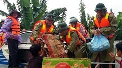 Xuất 1.000 tấn gạo hỗ trợ đồng bào vùng lũ tỉnh Quảng Trị