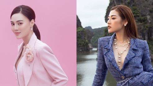 Sao đẹp tuần qua: Lan Ngọc, Dương Tú Anh diện vest táo bạo