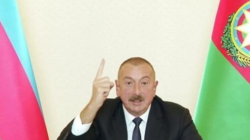 Tổng thống Azerbaijan tiết lộ điều kiện ngừng bắn ở Karabakh