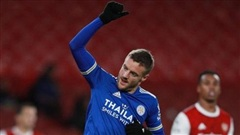 Arsenal thua Leicester 0-1 trên sân nhà
