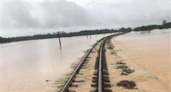 Đường sắt thiệt hại  hàng chục tỷ đồng do mưa lũ
