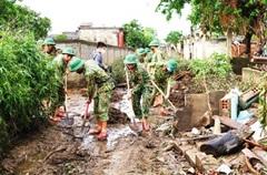 Giúp dân ổn định cuộc sống sau lũ
