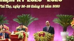 Thủ tướng: Đưa Phú Thọ phát triển đột phá trong nhiệm kỳ tới, xứng danh quê hương Đất Tổ anh hùng