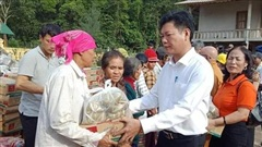 Nhiều hoạt động thiết thực, ý nghĩa sẻ chia với người dân miền Trung