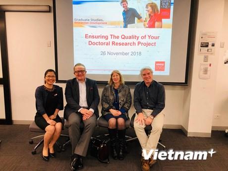 Chương trình RDP - cầu nối cho các nhà nghiên cứu Việt Nam toàn cầu