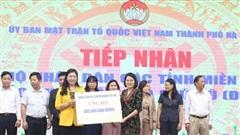 Hà Nội tiếp nhận hơn 14,2 tỷ đồng ủng hộ miền Trung