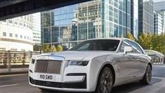 Chiêm ngưỡng siêu xe Rolls-Royce Ghost 2021 giá 'ngất ngưởng' 6,3 tỷ đồng