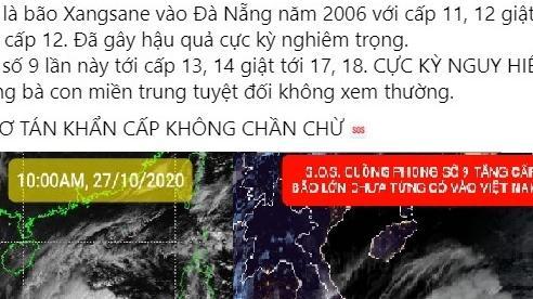 Bão số 9 sắp đổ bộ, dân mạng lo lắng xem lại clip bão Xangsane tàn phá miền Trung năm 2006