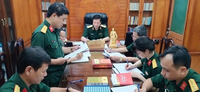 Thực hiện tốt chức năng của cơ quan xét xử cao nhất trong quân đội