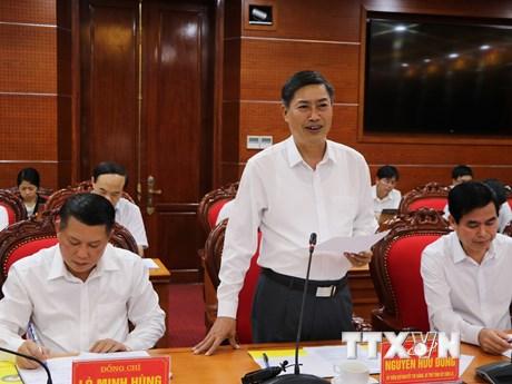 Triển khai dự án xây dựng tuyến cao tốc Hòa Bình-Mộc Châu