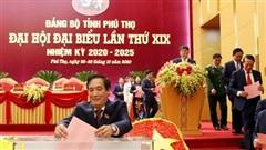 Phú Thọ: 53 đồng chí trúng cử Ban Chấp hành Đảng bộ tỉnh