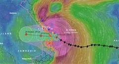 Thống kê bước đầu, gần 1000 căn nhà tốc mái do bão số 9