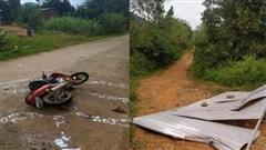 Người đàn ông ở Đắk Lắk bị tấm tôn bay trúng người tử vong