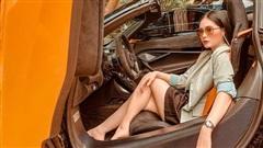 Nữ ca sĩ Đoàn Di Băng được chồng tặng hẳn siêu xe McLaren 720S Spider, không quên đề cập tới chuyện thiện nguyện tại thời điểm này