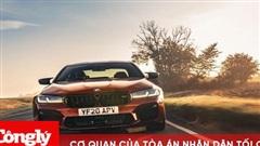 Cận cảnh BMW M5 bản nâng cấp 2021 vừa ra mắt