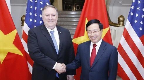 Ngoại trưởng Hoa Kỳ Pompeo sẽ thăm chính thức Việt Nam vào ngày mai