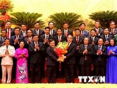 Ông Vũ Đại Thắng được bầu tiếp tục giữ chức Bí thư Tỉnh ủy Quảng Bình