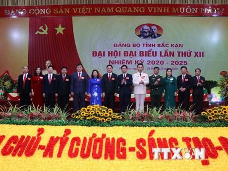 Bế mạc Đại hội Đảng bộ tỉnh Bắc Kạn nhiệm kỳ 2020-2025