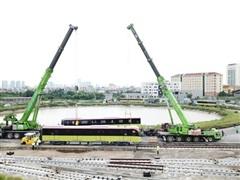 Metro Nhổn-ga Hà Nội khai thác đoạn trên cao vào nửa cuối năm 2021