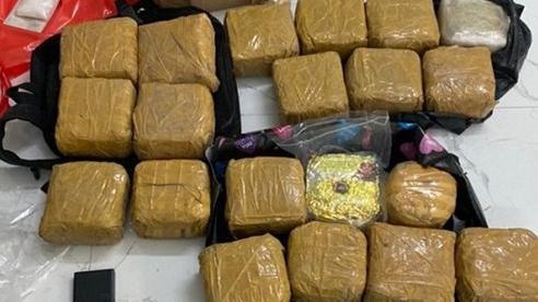 TP.HCM: Triệt phá đường dây ma túy 'khủng', thu giữ hơn 100kg ma túy các loại