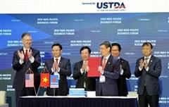 PV GAS và Tập đoàn AES ký kết 'Thỏa thuận các điều khoản chính của Hợp đồng liên doanh dự án kho cảng LNG Sơn Mỹ'