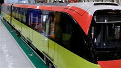 Đoàn tàu đường sắt Nhổn - ga Hà Nội sử dụng công nghệ hiện đại châu Âu
