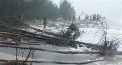 Nhiều tuyến bờ biển Huế sạt lở nặng, 4 người bị thương