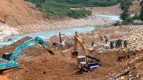 Triển khai trở lại việc tìm kiếm công nhân mất tích tại thủy điện Rào Trăng 3
