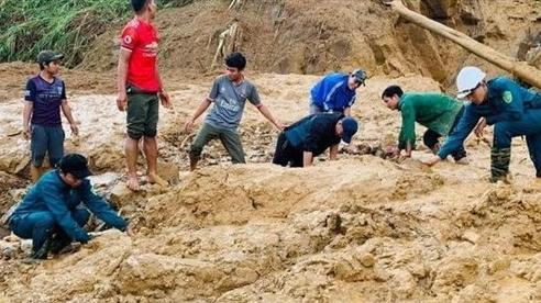 Tìm thấy 3 thi thể trong vụ sạt lở tại xã Phước Sơn, Quảng Nam