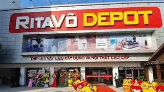 RitaVõ khai trương trung tâm Depot