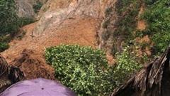 Mưa lớn, nhiều huyện miền núi Hà Tĩnh bị sạt lở