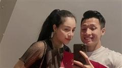 Khánh Linh đặt lại trạng thái 'đã đính hôn' với Bùi Tiến Dũng