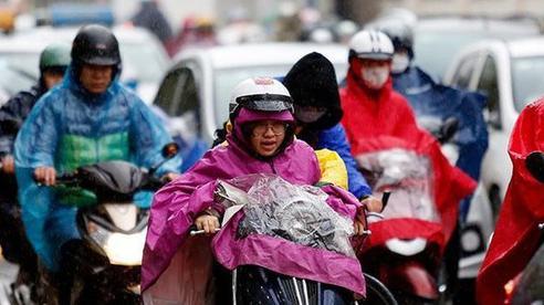 Không khí lạnh gây mưa lớn cho Bắc Bộ và Bắc Trung Bộ
