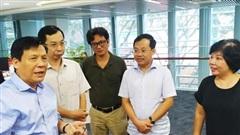 Báo Hànộimới và Báo Sài Gòn Giải Phóng trao đổi nghiệp vụ